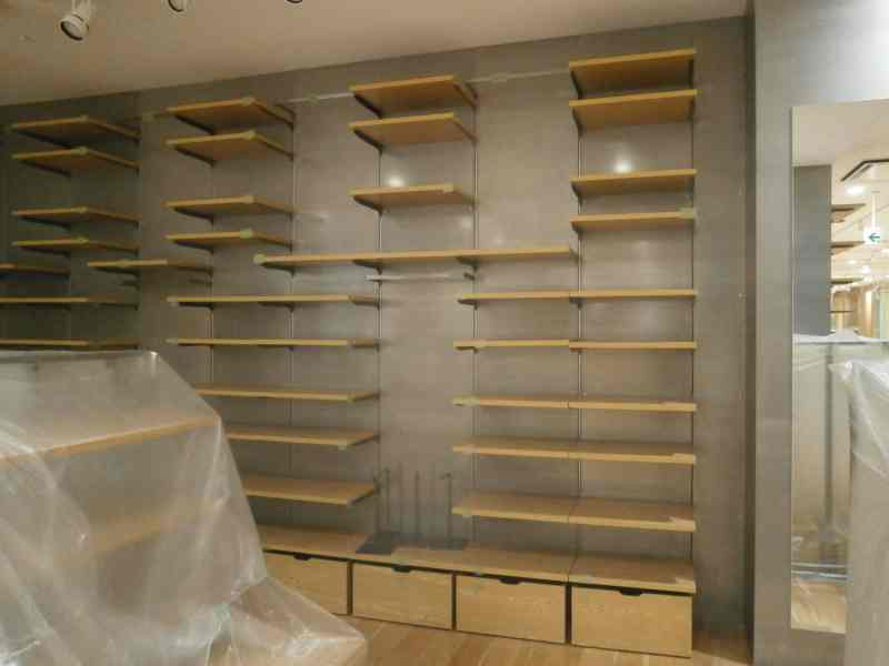 鋼板 店舗内装 内装工事 静岡県